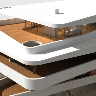 project A.01 architects Aparthotel Zenta Split, Croatia